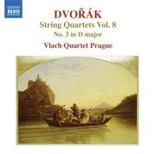 Antonin Dvorak (1841-1904): Streichquartette Vol.8, CD