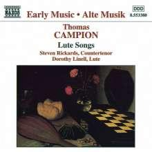 Thomas Campion (1567-1620): Lautenlieder, CD