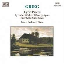Edvard Grieg (1843-1907): Klavierstücke, CD