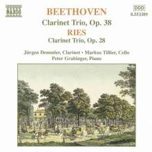 Ferdinand Ries (1784-1838): Trio f.Klarinette,Cello & Klavier op.28, CD