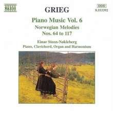 Edvard Grieg (1843-1907): Klavierwerke Vol.6, CD