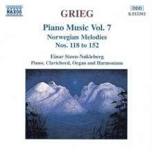 Edvard Grieg (1843-1907): Klavierwerke Vol.7, CD