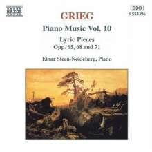 Edvard Grieg (1843-1907): Klavierwerke Vol.10, CD