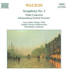 William Walton (1902-1983): Symphonie Nr.2, CD