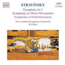 Igor Strawinsky (1882-1971): Symphonie in C, CD