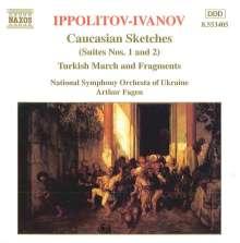 Michail Ippolitow-Iwanow (1859-1935): Kaukasische Skizzen Nr.1 & 2(opp.10 & 42), CD