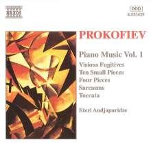 Serge Prokofieff (1891-1953): Klavierwerke Vol.1, CD