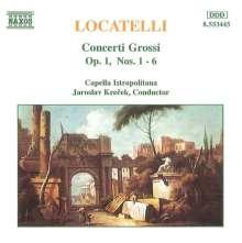 Pietro Locatelli (1695-1764): Concerti grossi op.1 Nr.1-6, CD