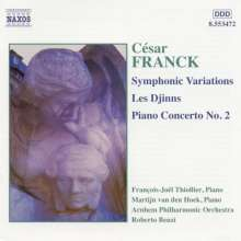 Cesar Franck (1822-1890): Klavierkonzert Nr.2 h-moll op.11, CD