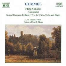 Johann Nepomuk Hummel (1778-1837): Flötentrio op.78, CD