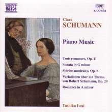 Clara Schumann (1819-1896): Klavierwerke, CD