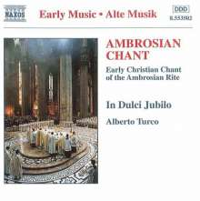 Ambrosian Chant, CD