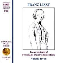 Franz Liszt (1811-1886): Klavierwerke Vol.14, CD