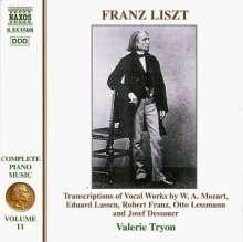 Franz Liszt (1811-1886): Klavierwerke Vol.11, CD