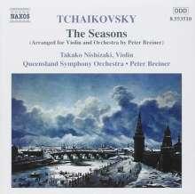 Peter Iljitsch Tschaikowsky (1840-1893): Die Jahreszeiten op.37b (Orchesterfassung), CD