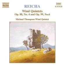 Anton Reicha (1770-1836): Bläserquintette op.88,4 & op.99,6, CD