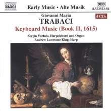 Giovanni Maria Trabaci (1575-1647): Cembalowerke, 4 CDs