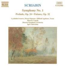 Alexander Scriabin (1872-1915): Symphonie Nr.1, CD