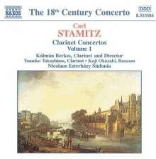 Carl Stamitz (1745-1801): Sämtliche Klarinettenkonzerte Vol.1, CD