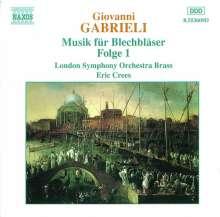 Giovanni Gabrieli (1557-1612): Canzoni & Sonate I, CD