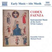 Codex Faenza (Italien,15.Jh.), CD