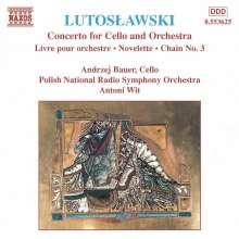 Witold Lutoslawski (1913-1994): Chain 3 für Orchester, CD