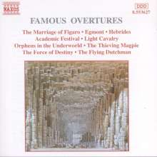 Famous Overtures, CD