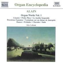 Jehan Alain (1911-1940): Sämtliche Orgelwerke Vol.1, CD