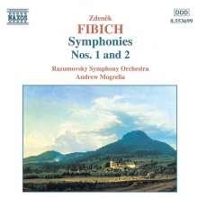 Zdenek Fibich (1850-1900): Symphonien Nr.1 & 2, CD
