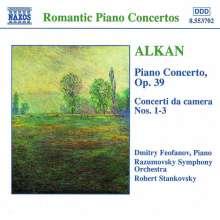 Charles Alkan (1813-1888): Klavierkonzert op.39, CD