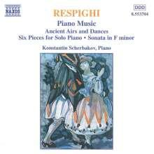 Ottorino Respighi (1879-1936): Klavierwerke, CD