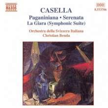 "Alfredo Casella (1883-1947): Divertimento op.65 ""Paganiniana"", CD"
