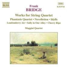 Frank Bridge (1879-1941): Werke für Streichquartett, CD