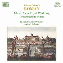 Johan Helmich Roman (1694-1758): Drottningholmsmusiken, CD
