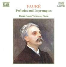 Gabriel Faure (1845-1924): Preludes Nr.1-9, CD
