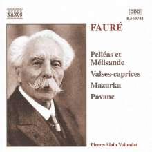 Gabriel Faure (1845-1924): Valse-Capricen opp.30,38,59,62, CD