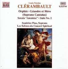 Louis-Nicolas Clerambault (1676-1749): Kantaten, CD