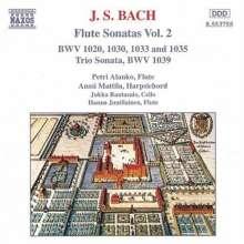 Johann Sebastian Bach (1685-1750): Sonaten & Partita für Traversflöte Vol.2, CD