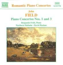 John Field (1782-1837): Klavierkonzerte Nr.1 & 3, CD