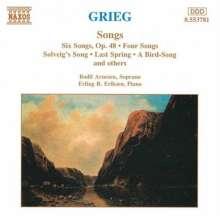 Edvard Grieg (1843-1907): Lieder, CD