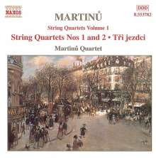 Bohuslav Martinu (1890-1959): Sämtliche Streichquartette Vol.1, CD