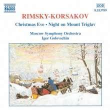 Nikolai Rimsky-Korssakoff (1844-1908): Die Weihnacht-Suite, CD