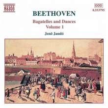 Ludwig van Beethoven (1770-1827): Bagatellen & Klavierstücke Vol.1, CD