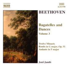 Ludwig van Beethoven (1770-1827): Bagatellen & Klavierstücke Vol.3, CD