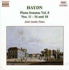 Joseph Haydn (1732-1809): Klaviersonaten H16 Nr.2,3,6,12-14, CD