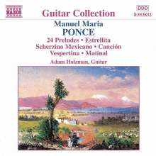 Manuel Maria Ponce (1882-1948): Gitarrenwerke Vol.1, CD