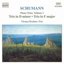 Robert Schumann (1810-1856): Klaviertrios Vol.1, CD