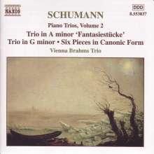 Robert Schumann (1810-1856): Klaviertrios Vol.2, CD