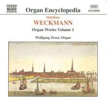 Matthias Weckmann (1619-1674): Orgelwerke Vol.1, CD