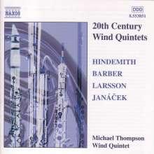 20th Century Wind Quintets, CD